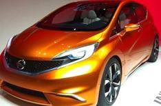 Geneva 2012: UK-built Nissan Invitation