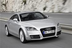 Updated Audi TT driven