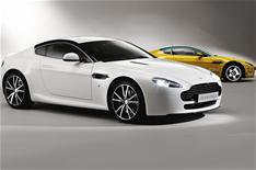 Racing car-inspired Aston Martin V8