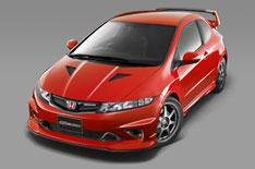 Hotter Civic Type R announced