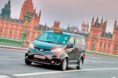 Nissan NV200 London black cab revealed