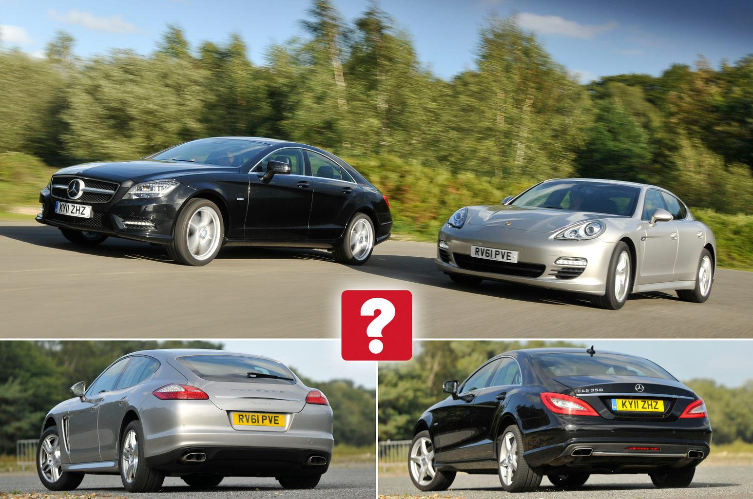 Used Mercedes Benz Cls Vs Porsche Panamera