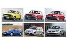 New VW Golf: Famous previous five