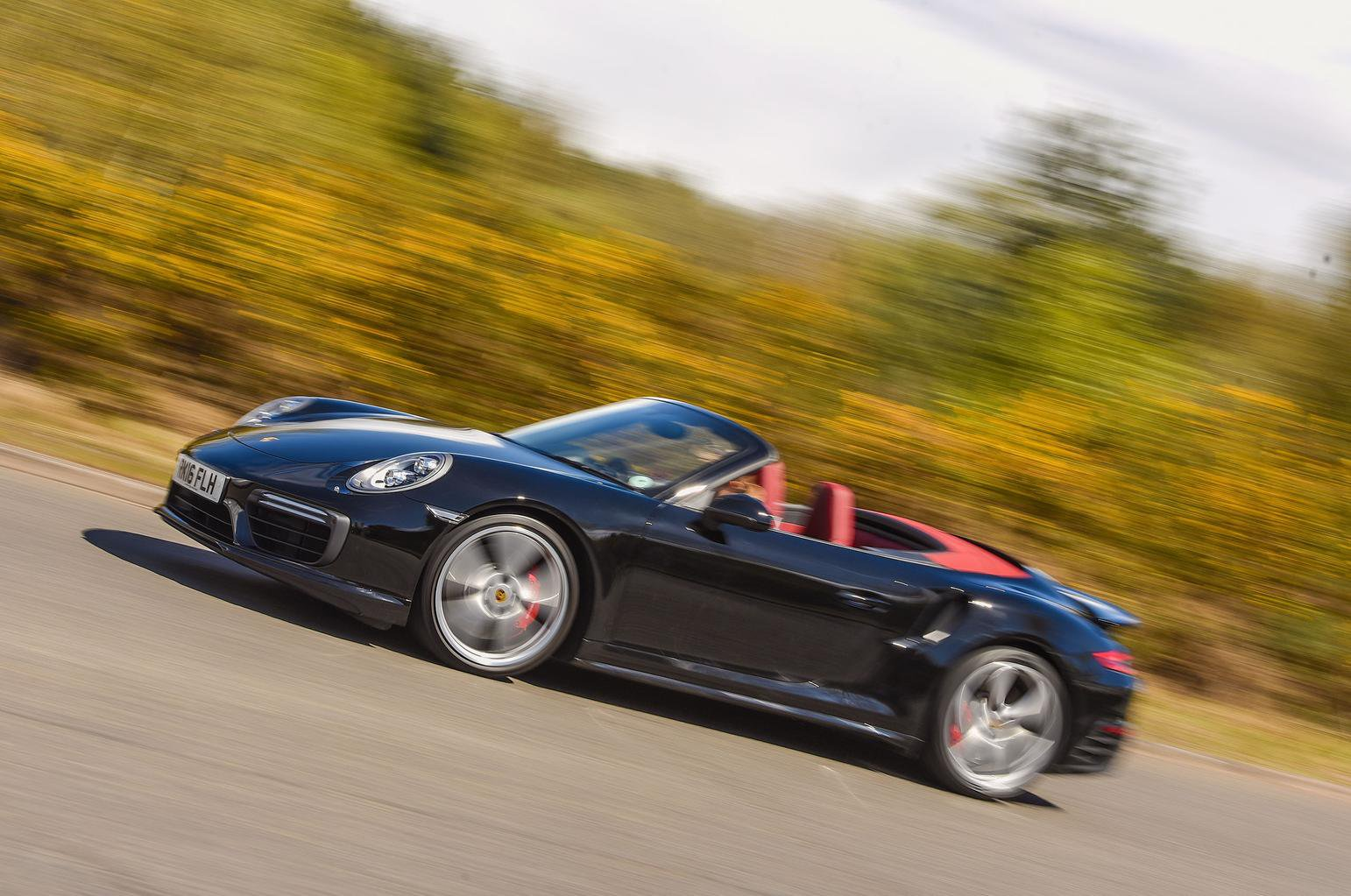 2016 Porsche 911 Turbo Cabriolet review
