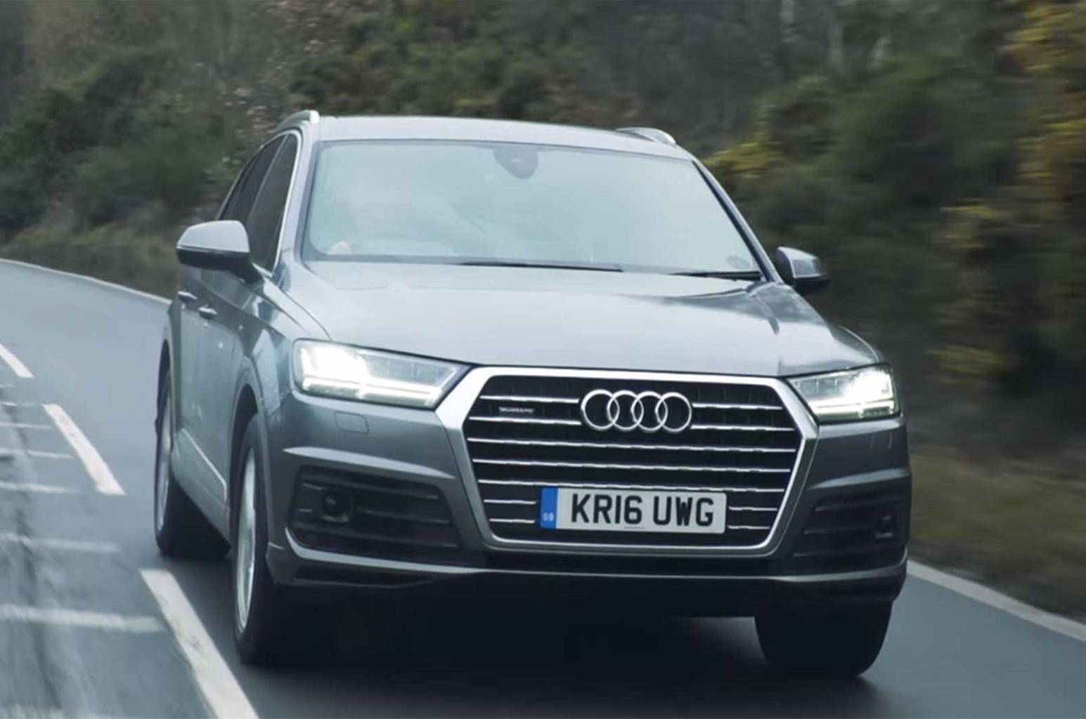 Audi Q7 reviewed on video