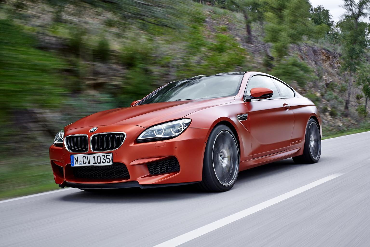 Face-lifted BMW 6 Series and M6 revealed