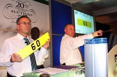 Man buys '6 0' registration for 100k