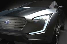 Subaru Viziv to make debut at Geneva