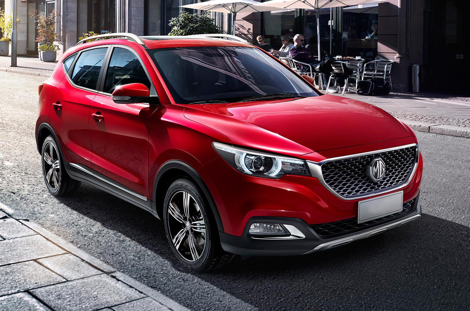 New MG XS SUV revealed