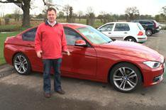 Our cars: BMW 320d video update
