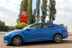 MG6 saloon on sale next month