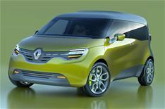 Renault unveils Frendzy concept