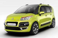 Citroen's new mini-MPV - the C3 Picasso