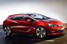 Vauxhall reveals GTC Paris Concept