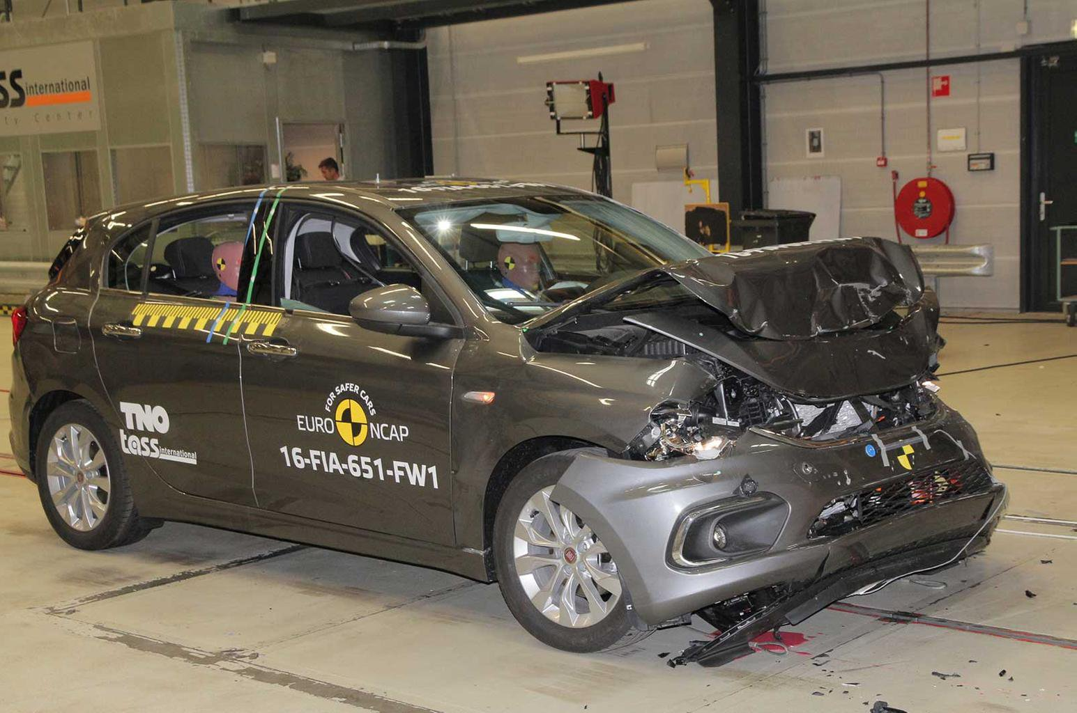 Fiat Tipo gets 3-star safety rating from Euro NCAP