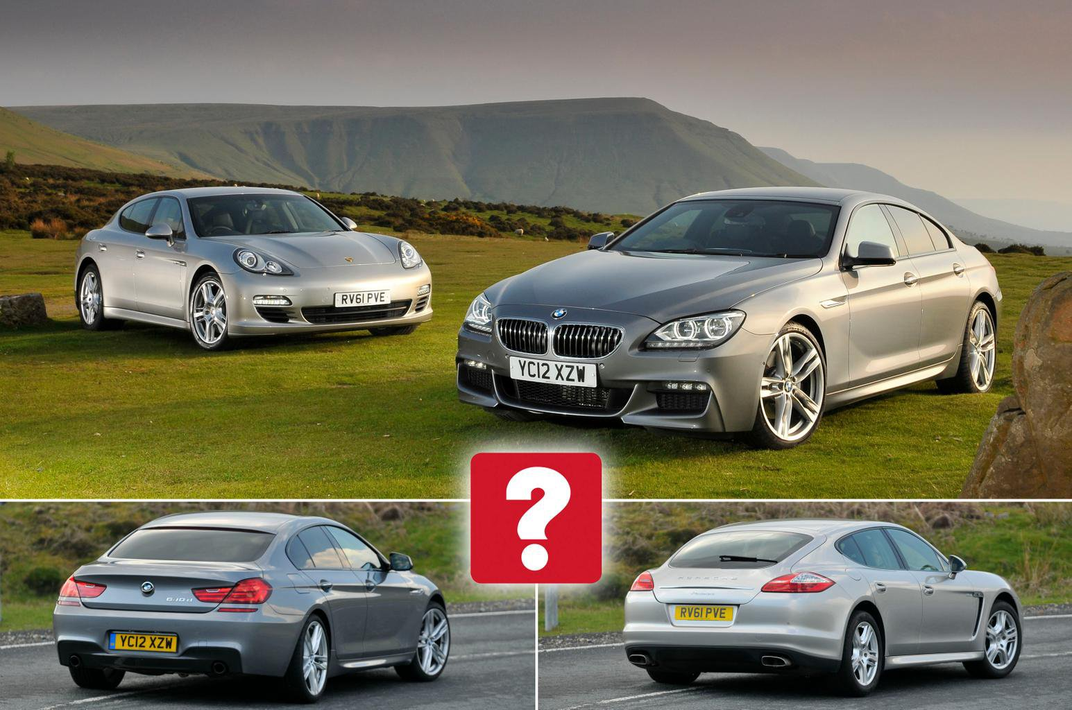Used BMW 6 Series Gran Coupe vs Porsche Panamera