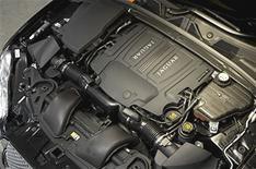 Jaguar's V8 engines