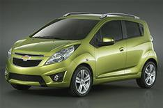 Chevrolet Spark to be unveiled