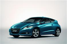 European Honda CR-Z on show in Geneva