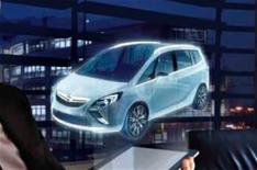 New Vauxhall Zafira revealed