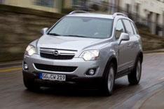 Updated Vauxhall Antara driven