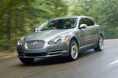 Jaguar XF and other champs
