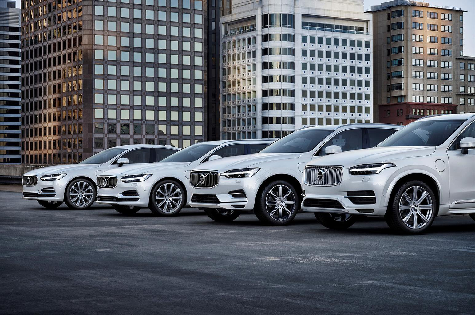 Every new Volvo model to be electrified by 2019