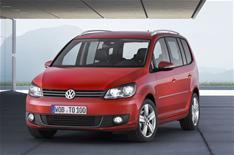 New VW Touran unveiled