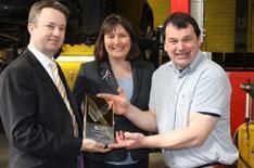 Tewkesbury garage wins Golden Garage