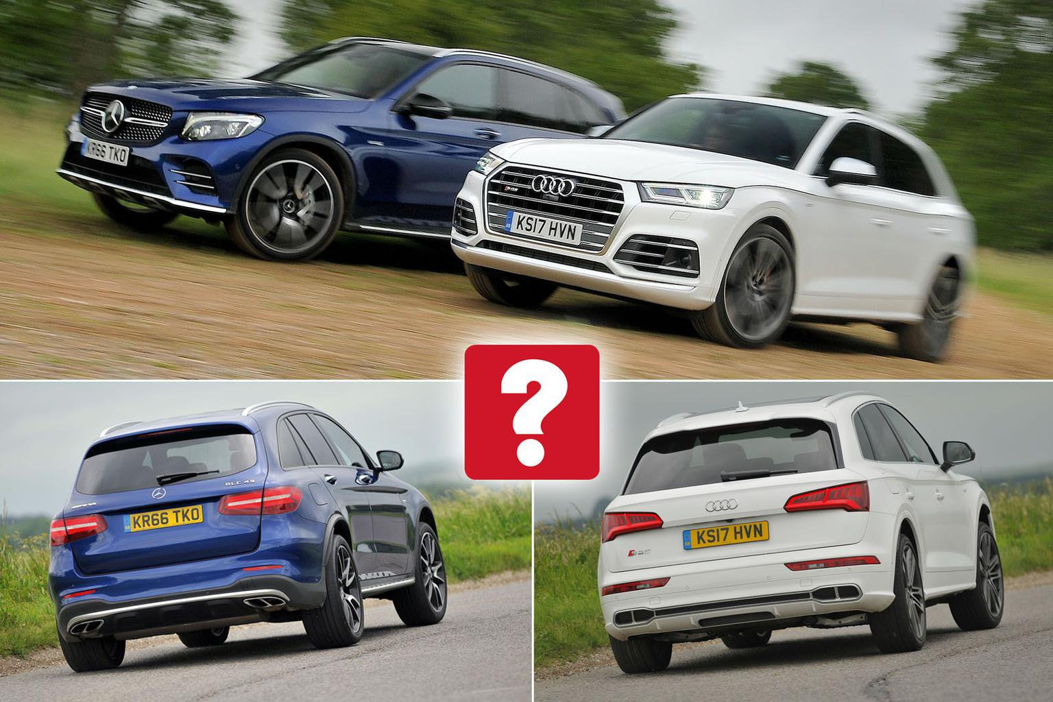New Audi SQ5 vs Mercedes-AMG GLC 43