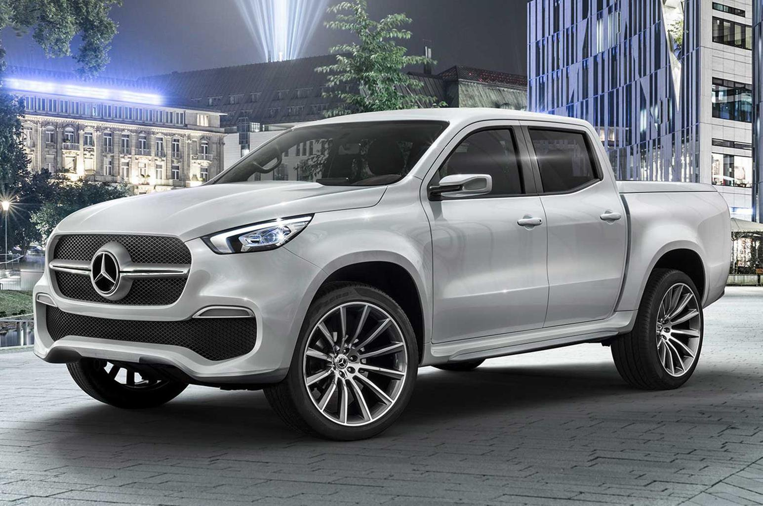New Mercedes X-Class concept shows new pick-up truck