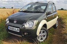 Fiat puts Panda Cross on sale