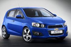Chevrolet unveils Aveo supermini