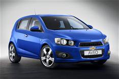 Chevrolet extends Aveo range
