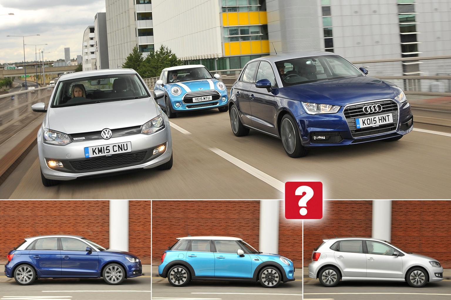 Used test: Audi A1 vs Mini hatch vs Volkswagen Polo | What Car?