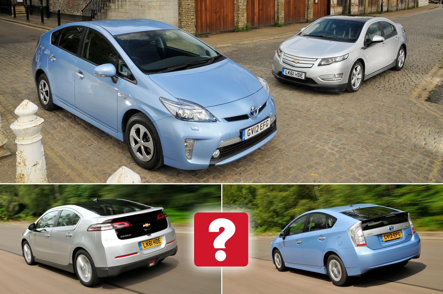 Used Toyota Prius vs Chevrolet Volt
