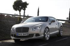 Bentley Continental GT driven
