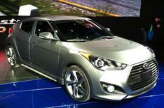 Detroit 2012: Hyundai Veloster Turbo
