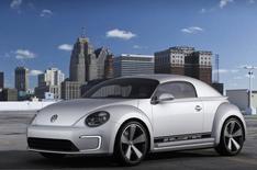 Detroit 2012: VW E-Bugster photos leaked