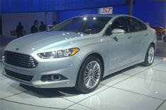Detroit motor show 2012: Ford Mondeo
