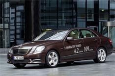 Detroit 2012: Mercedes E-Class Hybrid