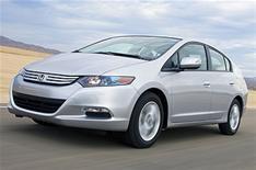 Honda Insight hybrid improved
