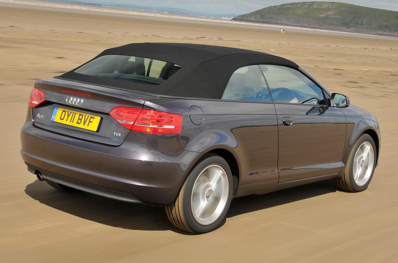 Used test – affordable convertibles: Audi A3 vs Peugeot 308 vs Volkswagen Golf