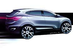 Revealed: Hyundai HED-6 SUV concept car