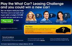 Play our leasing game, win a car