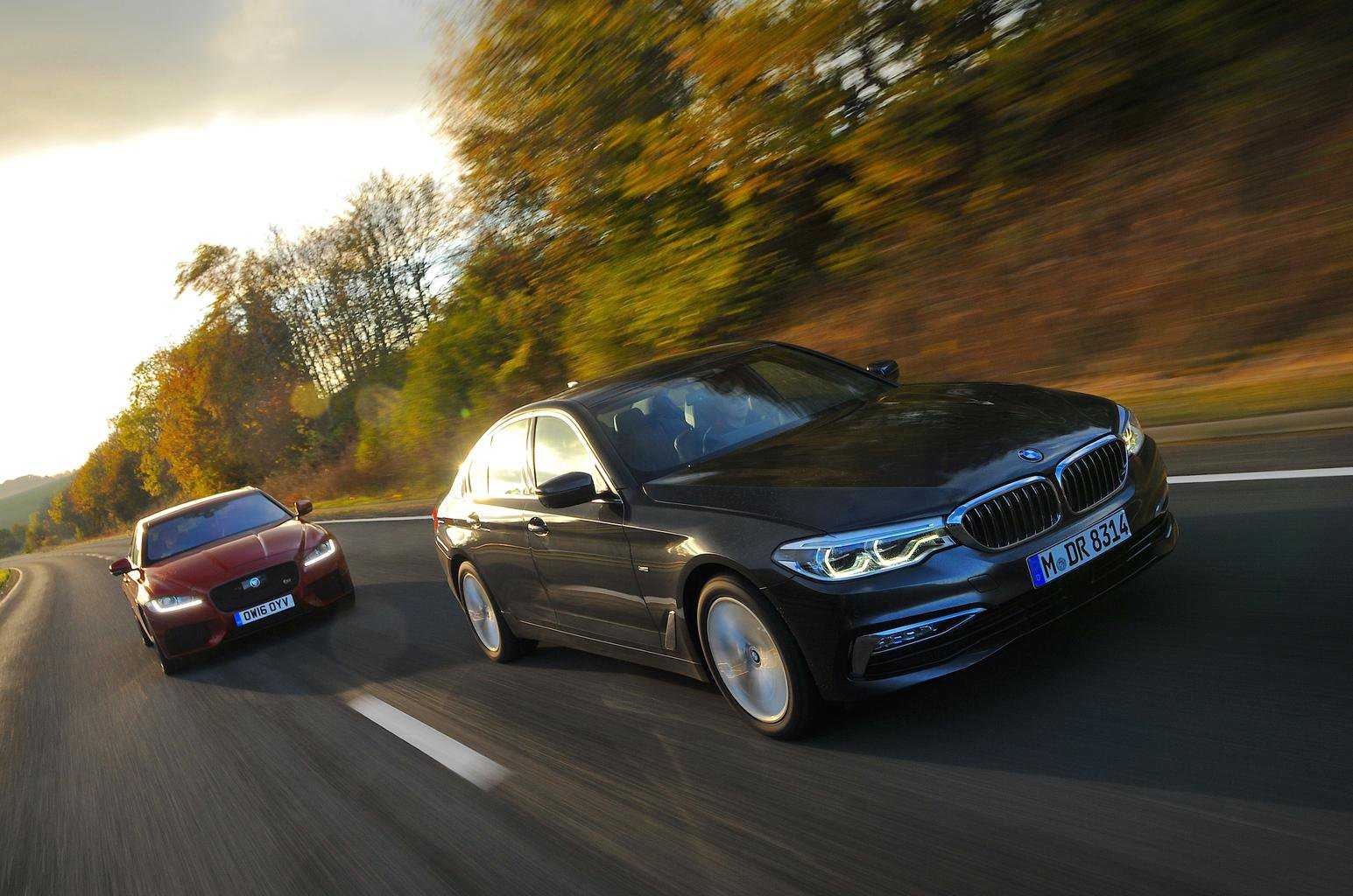 New BMW 5 Series vs Jaguar XF