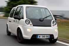 Mia electric car driven
