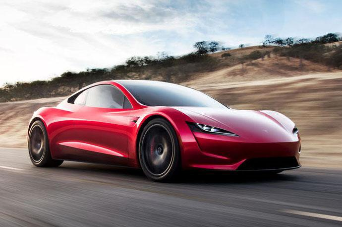 New Tesla Roadster revealed: world's fastest-accelerating car