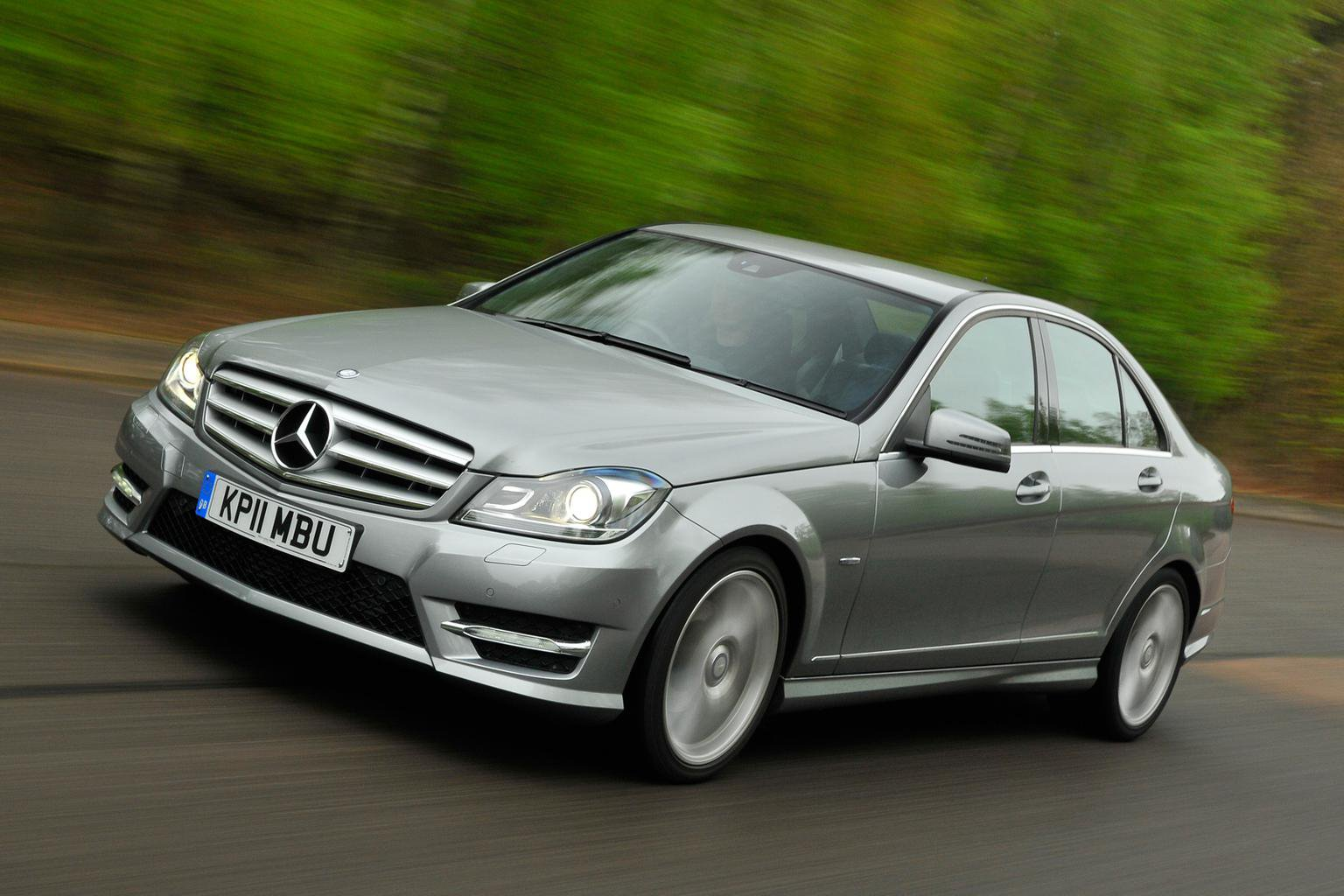 Used Mercedes C-Class from 14k