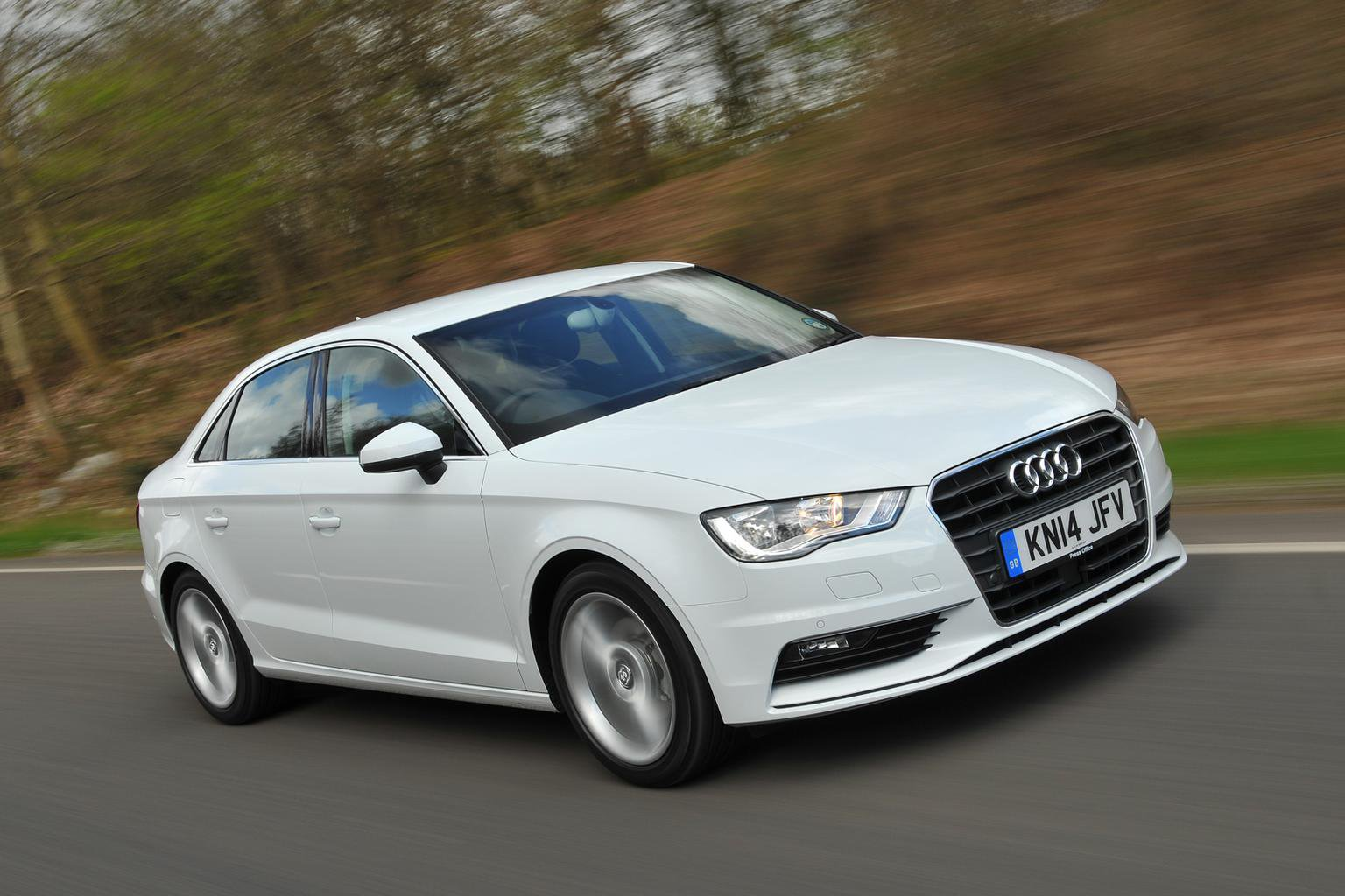 Our cars: Audi A3 Saloon and Mini Cooper